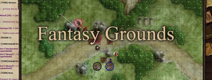 Fantasy Grounds Dijital FRP Oyun Sistemi İncelemesi