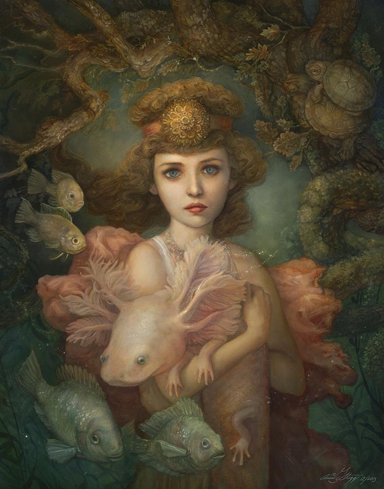 Annie Stegg - Lilaia the Naiad