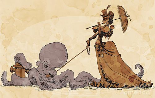 Brian Kesinger - Walking Your Octopus