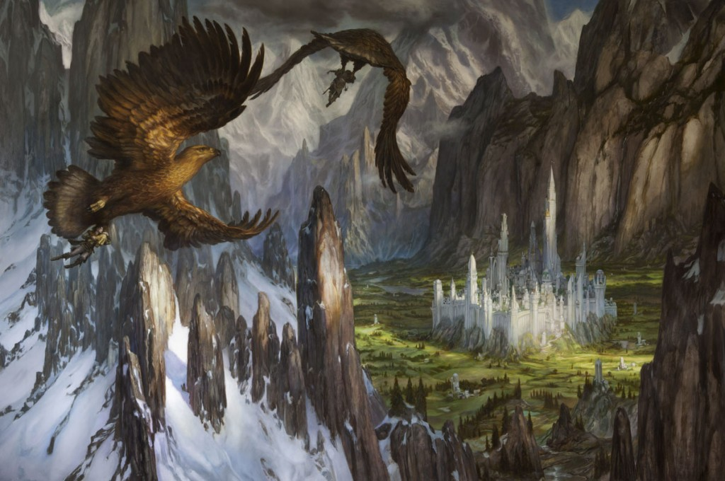 Donato Giancola - Huor and Hurin Approaching Gondolin