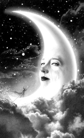 John Picacio - La Luna