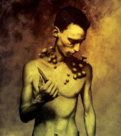 John Picacio - The Button Man and the Murder Tree