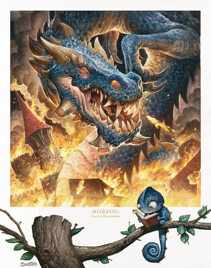 Justin Gerrard - Morzag! Lord of Destruction poster