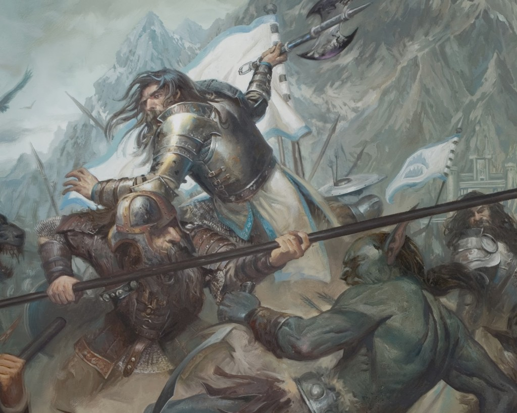 Lucas Graciano - The Last Stand of Thorin Oakenshield for The Battle of Five Armies
