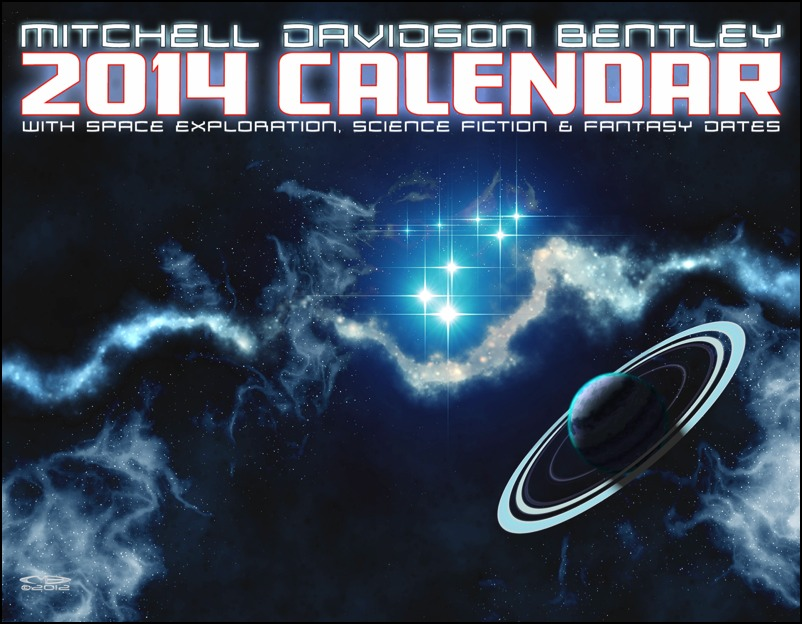 Mitchell Bentley - 2014 Space Art Calendar