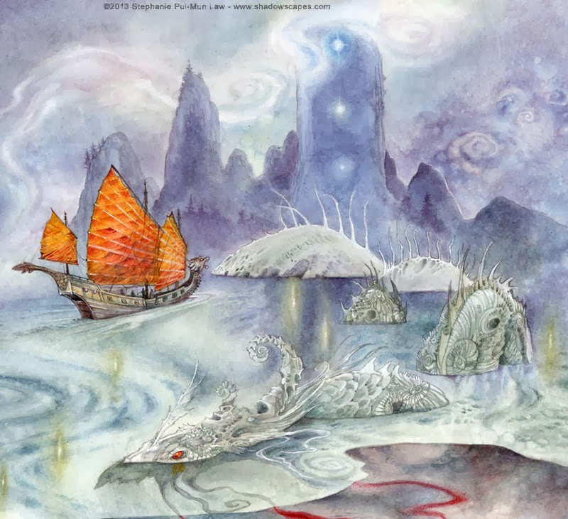 Stephanie Pui-Mun Law - Ships Passing in the Night