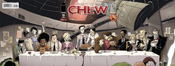 Chew, Marmara Çizgi Aracılığıyla Türkçe Yayınlanıyor!