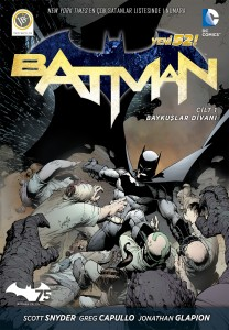 Batman V1 Court Of Owls Kapak