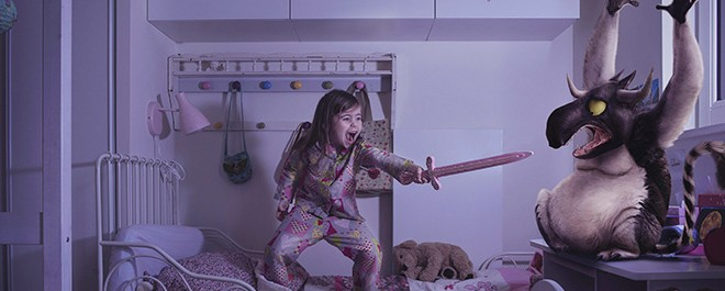 Çocuklar, Korktukları Yaratıklara Karşı