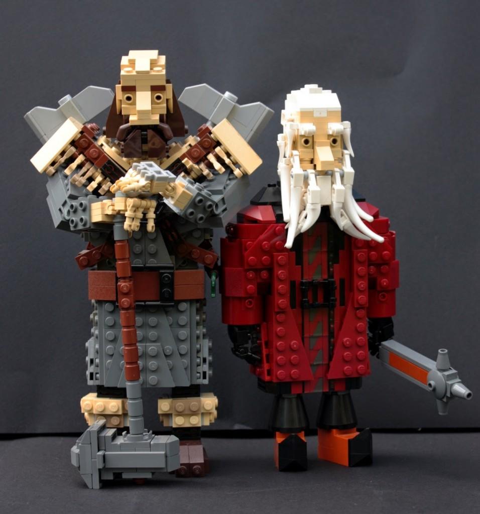 lego hobbit - balindwalinb