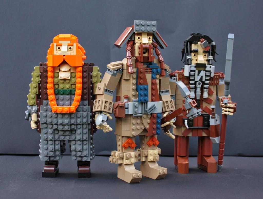 lego hobbit - bifurbofurbombur