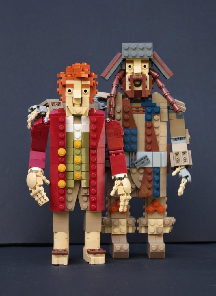 lego hobbit - bofurbilbo