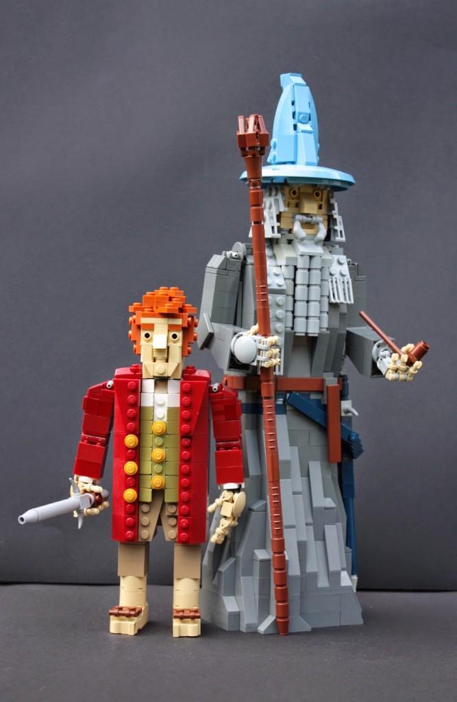 lego hobbit - gandalfbilbo1