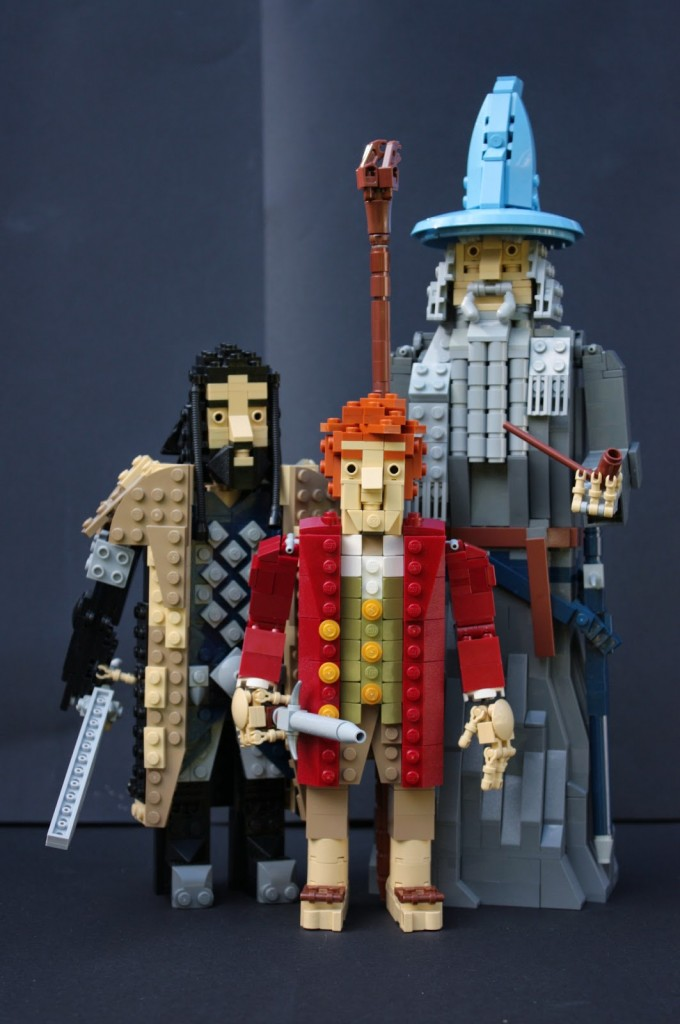 lego hobbit - gandalfbilbothorin