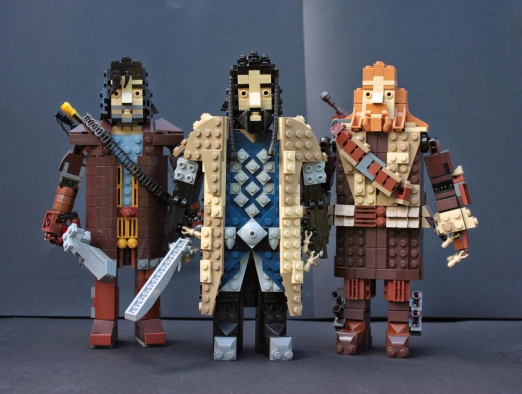 lego hobbit - thorinfilikili
