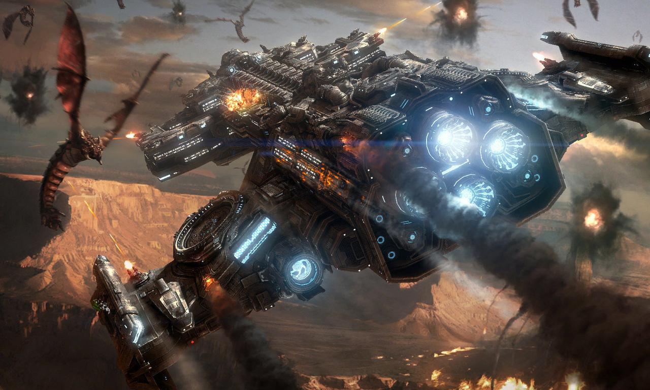 titan-starcraft-battlecruiser-zerg