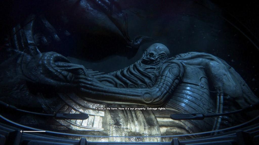 Mühendislerin fosili (Alien 1979 )
