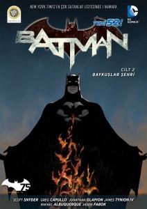 Batman Baykuslar Sehri - kapak