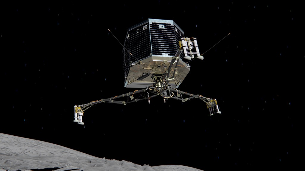 Philae_descent