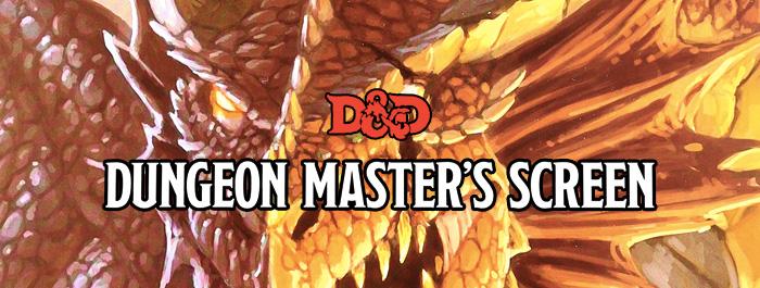 Deluxe Dungeon Master's Screen Geliyor!