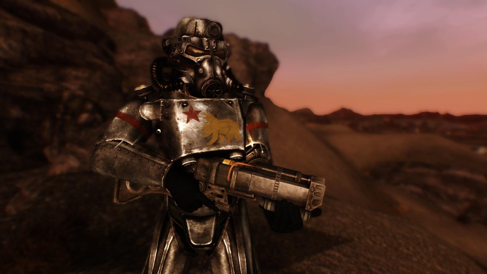 NCR tarafından kullanılan Power Armor.