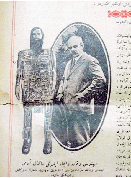 Osmanlı Dönemi Robotunun Metinleri
