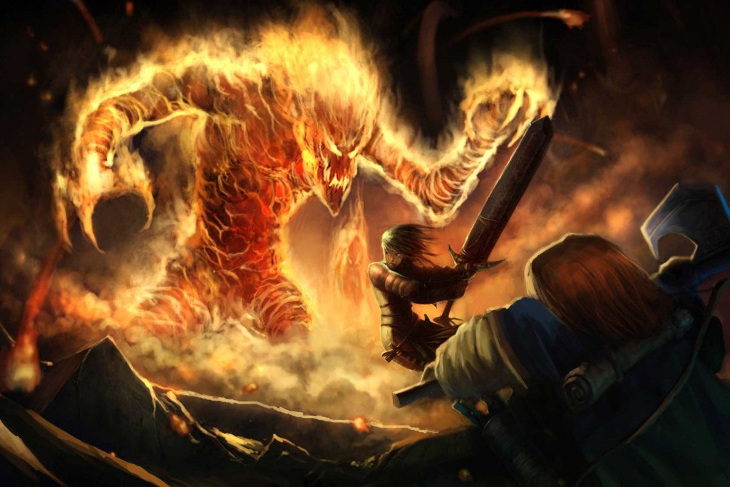 pathfinder-fire-elemental