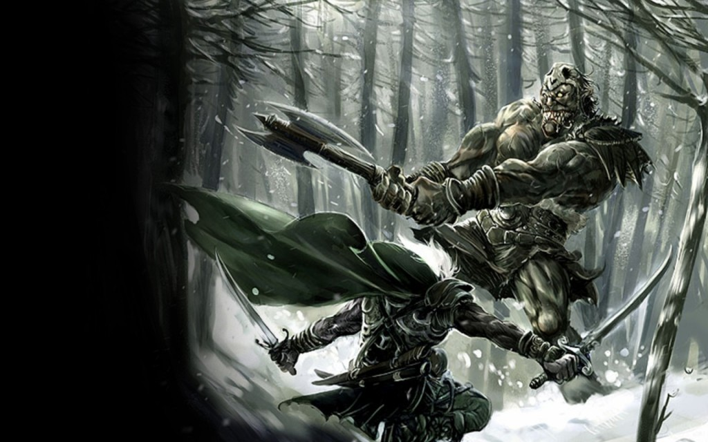 drizzt-forest
