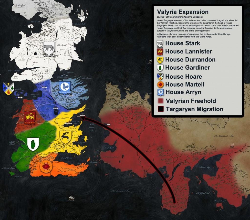 8 - Targaryen Migration