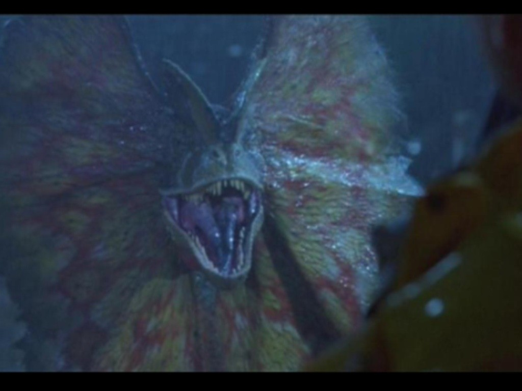 Dilophosaurus Hologramı