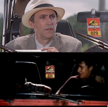 Jurassic Park filmindeki Jeepler