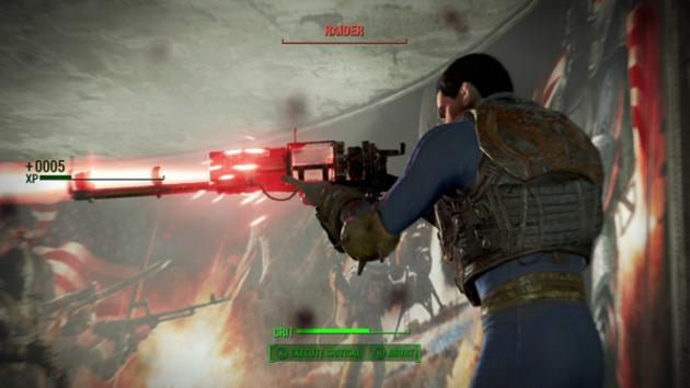 Fallout 4 Dövüş Videosu
