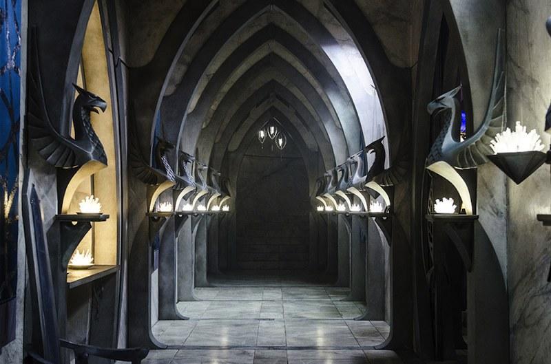 Arborlon Sarayı'nın içinden görüntü