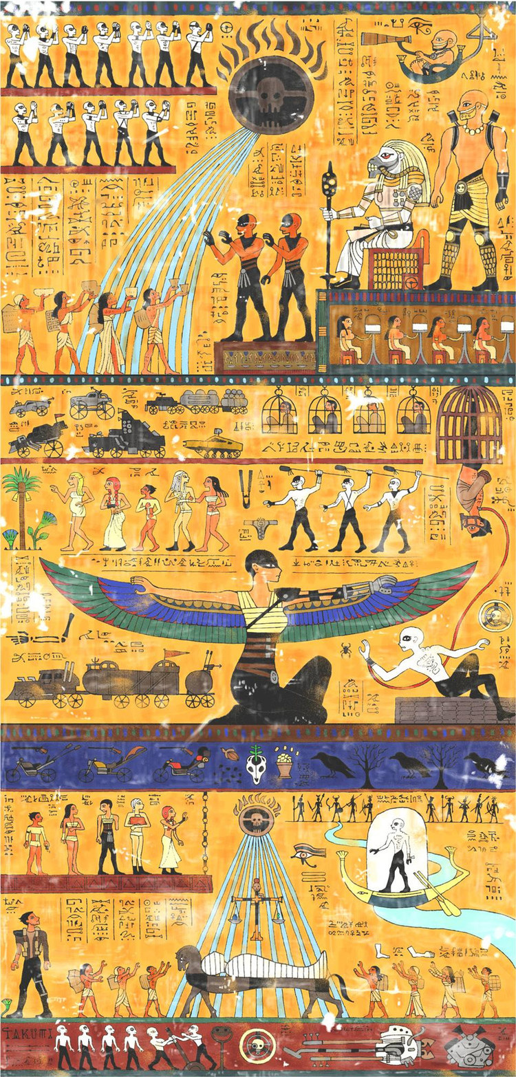 mad-max-fury-road-story-told-in-egyptian-hieroglyphic-art