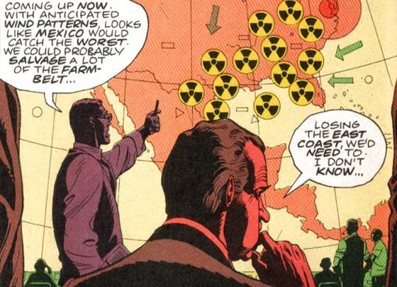 Watchmen, Soğuk Savaş ve Richard Nixon