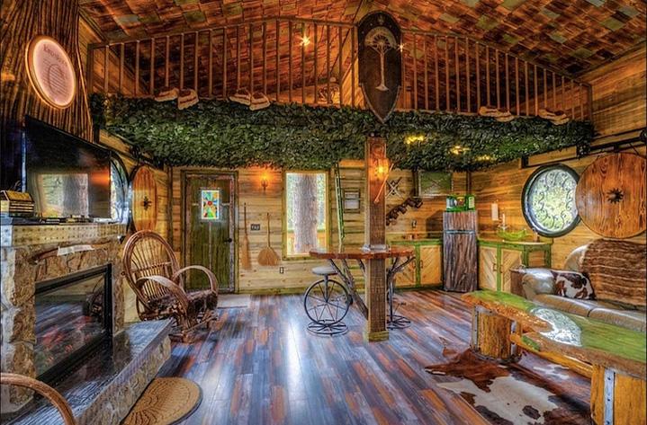 Hobbit evi 39 nde g zel bir tatile ne dersiniz frpnet - Great hobbit home designs ...