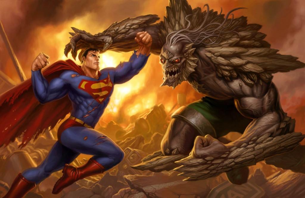 Superman-vs-Doomsday-by-Dan-Scott