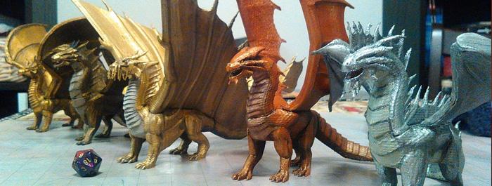 3d-ejderha-dragon-minyatur