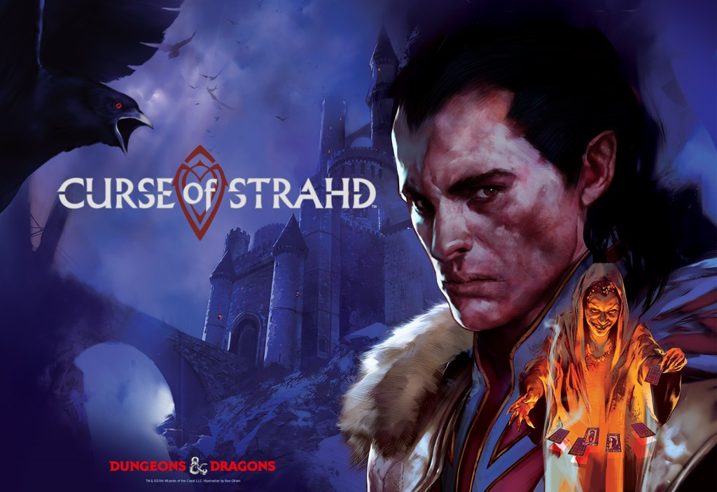 Curse of Strahd Key Art