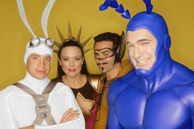 2001 yapımı The Tick dizisinin ekibi