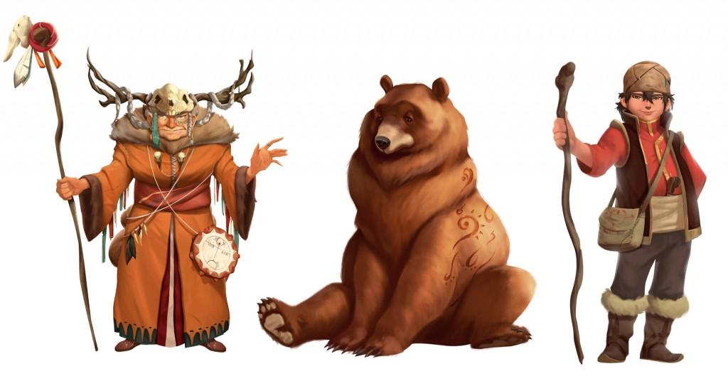 boerue-karakterler