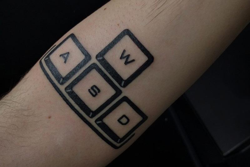 wasd-tattoo