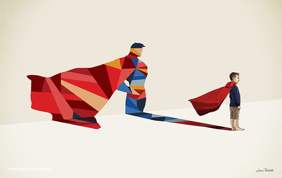 super-shadows-superman