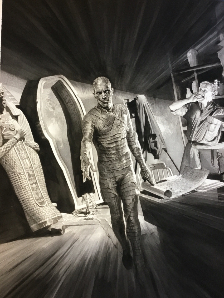 alex-ross-universal-korku-canavarlari-mummy
