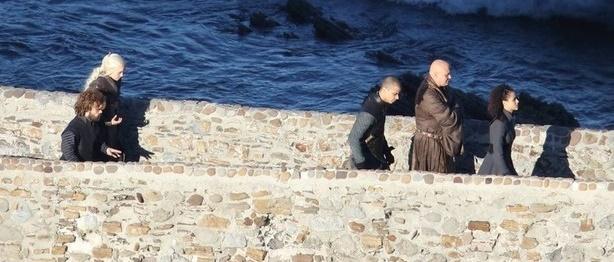 Bu sahnenin çekimleri sırasında Bilbao'da yakalanan kareler.