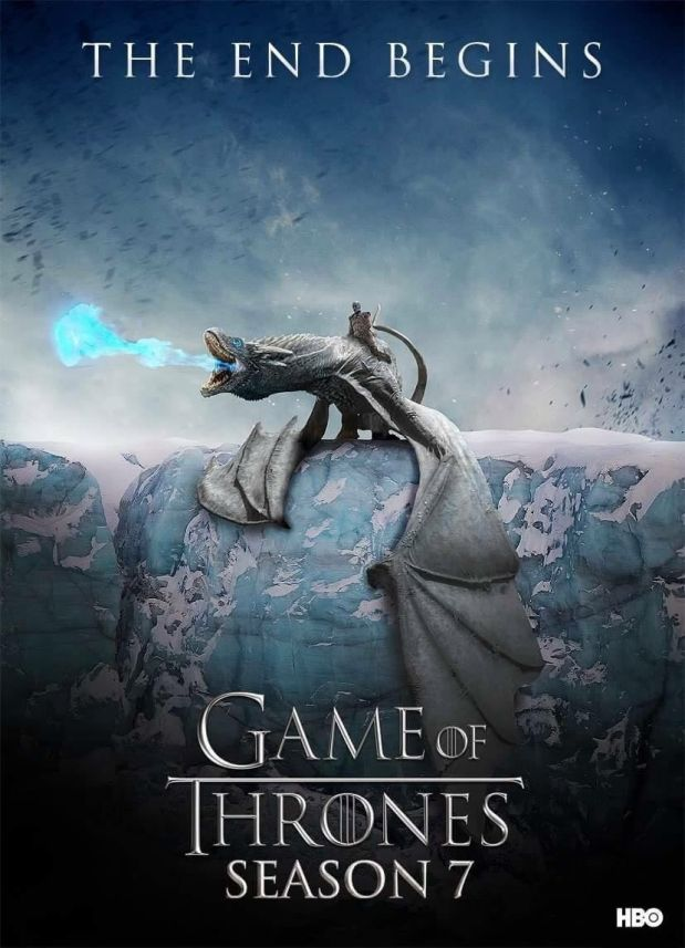 Fan yapımı Game of Thrones 7. sezon afişi