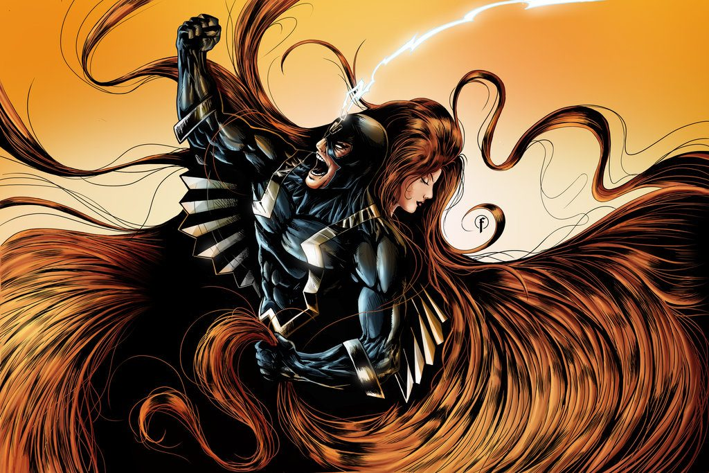 black_bolt_and_medusa_color_by_riccardo_fasoli-d4t9j3i