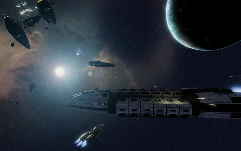Battlestar Galactica Deadlock Oyunu Geliyor