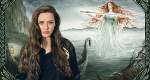 13 Reason Why'ın Hannah'ı Katherine Langford Şimdi Cursed Dizisinde Photo Credit: NatasaIlincic
